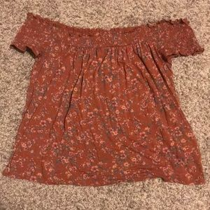 Off the Shoulder American Eagle Top